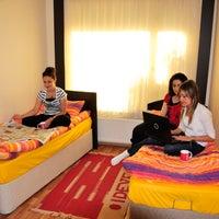 Photo taken at İdeal Kız Öğrenci Yurdu by İdeal Öğrenci Yurtları on 10/22/2013