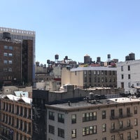 Photo taken at One Union Square South Sky Terrace by Kris C. on 5/1/2018