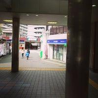 Photo taken at Keisei Sekiya Station (KS06) by ロンゴロンゴ on 4/9/2013