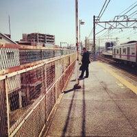 Photo taken at Keisei Sekiya Station (KS06) by ロンゴロンゴ on 4/26/2013