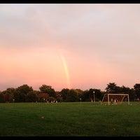 Photo taken at McNair Park by Dan G. on 10/2/2012