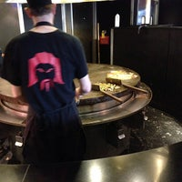 Photo taken at HuHot Mongolian Grill by Dan G. on 1/28/2013