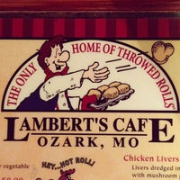 Photo taken at Lambert's Cafe by Dan G. on 11/21/2012