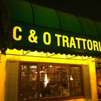 Photo taken at C&O Trattoria by Pascal H. on 2/19/2013