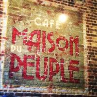 Photo prise au Café Maison du Peuple par Pascal H. le11/28/2012