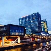 Photo taken at Mövenpick Hotel Amsterdam City Centre by Ana T. on 9/21/2013
