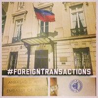 Photo taken at Embassy of Haiti by Josh B. on 11/14/2014