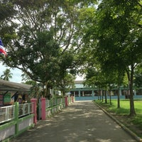 Photo taken at โรงเรียนอนุบาลทับสะแก by Tooktoo T. on 7/29/2013