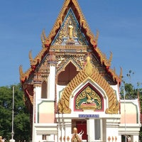 Photo taken at Wat Thap Sakae by Tooktoo T. on 4/21/2014