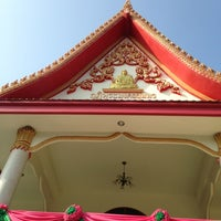 Photo taken at Wat Thap Sakae by Tooktoo T. on 3/28/2013