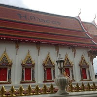Photo taken at Wat Thap Sakae by Tooktoo T. on 7/23/2013