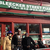 Photo taken at Bleecker Street Pizza by Ingrid S. on 3/1/2014