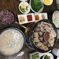 Photo taken at 예家수제순대 by Juha P. on 7/21/2018