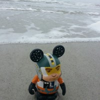 Photo taken at The Beach by Kerry B. on 1/4/2014