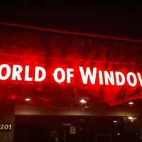 Photo taken at World Of Windows by Ashleigh D. on 5/24/2014
