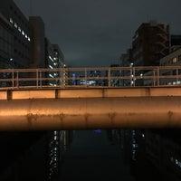 Photo taken at 美倉橋 by Yoshi on 6/8/2017