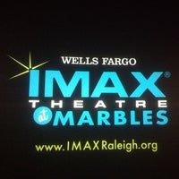 Photo taken at Wells Fargo IMAX Theatre at Marbles by Denise B. on 7/27/2013