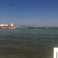 Photo taken at Yıldız Sahil Sitesi Plaj by Meltem Ö. on 7/5/2014