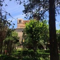 Photo taken at Jardins de la Cartoixa by Fernando C. on 6/13/2014