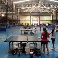 Photo taken at Gimnasio de Tenis de Mesa AZTM by Ronald D. on 5/14/2014