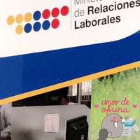 Photo taken at Ministerio de Relaciones Laborales by Majo A. on 6/22/2016