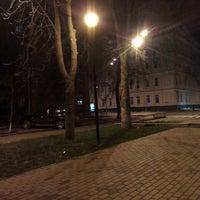 Photo taken at Памятник Мануильскому Дмитрию Захаровичу by Aleksey R. on 11/30/2013