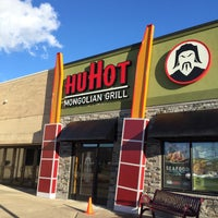 Photo taken at HuHot Mongolian Grill by James E. on 3/8/2015