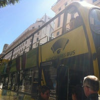 Photo taken at Buenos Aires Bus - Stop 0: Diagonal Norte by Vanessa B. on 3/10/2013