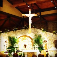 Photo taken at St. Louise De Marillac Church by Francis C. on 4/20/2014