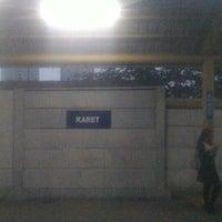 Photo taken at Stasiun Karet by Eko B U. on 6/13/2016