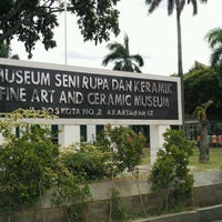 Photo taken at Museum Seni Rupa dan Keramik by Eko B U. on 12/28/2016