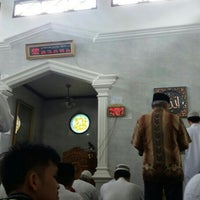 Photo taken at Masjid Baitul Jihad, Kemang Pratama 2 by Eko B U. on 6/11/2016