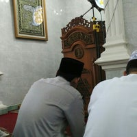 Photo taken at Masjid Baitul Jihad, Kemang Pratama 2 by Eko B U. on 7/8/2016