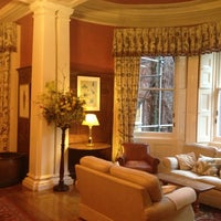 Photo taken at Gliffaes Country House Hotel Powys by Irene on 3/2/2014
