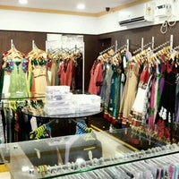 Photo taken at Piravi boutique by Vignesh R. on 12/17/2013