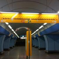 รูปภาพถ่ายที่ Metro =B= Vysočanská โดย nikola l. เมื่อ 8/9/2013