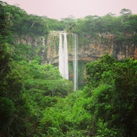 Photo taken at Chamarel Waterfall by Сергей У. on 1/6/2013