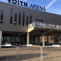 Photo taken at Voith-Arena by Carl V. on 11/10/2015
