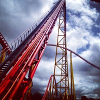 Photo taken at Intimidator 305 - Kings Dominion by Shanay M. on 5/16/2014