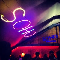 Photo taken at Soho Theatre Bar by Ursie D. on 7/28/2013