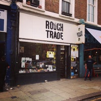 Photo taken at Rough Trade Records (West) by SASAPi . on 10/1/2013