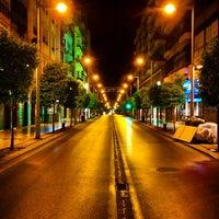 Orange calle recogidas granada