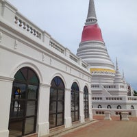 Photo taken at Phee Suea Samut Fort by Kreetha S. on 6/9/2013