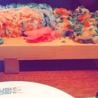 Photo taken at Sushi Yoshi by S ☕. on 2/4/2016