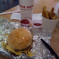 Photo taken at Five Guys by Omar G. on 5/11/2014