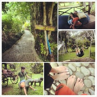 Photo taken at Balay Indang, The Red Ginger Farm & Garden by Mae I. on 9/15/2013
