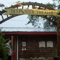 Photo taken at Deepwater Theater by Greg M. on 7/24/2014
