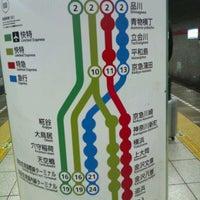 Photo taken at Sengakuji Station by エイエヌソフト 永. on 10/24/2012