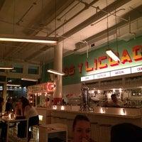 Photo taken at Tacombi Café El Presidente by Alan on 5/12/2014