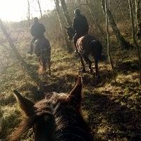 Photo taken at Djurslands Rideklub by Thomas P. on 12/22/2013